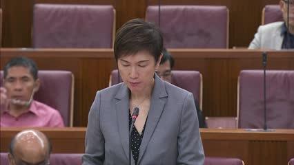 Josephine Teo on promoting paternity leave