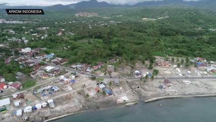 Indonesian fishermen regenerate reefs after earthquake destruction | Video