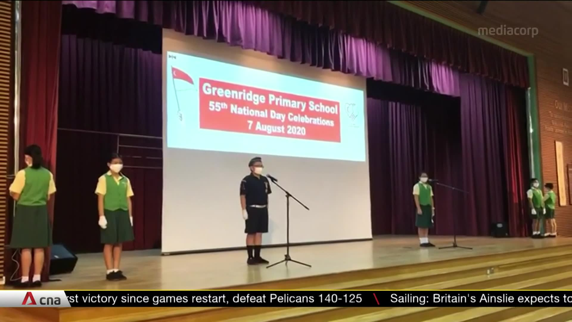 Schools mark Singapore's 55th birthday ahead of National Day | Video