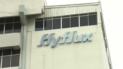Hyflux gets letter of intent for possible S$400m injection | Video