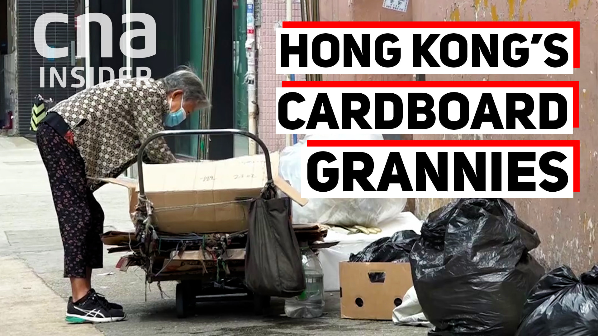 Hong Kong's Cardboard Granny: The Elderly Poor Struggle Amid COVID-19