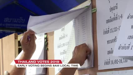 Young voters could play important role in Thailand's elections