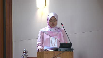Solidarity Budget: Rahayu Mahzam on additional support measures in response to COVID-19 pandemic