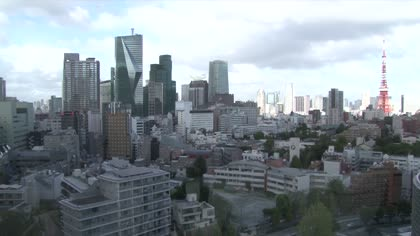 High demand for office space in Tokyo's business districts | Video