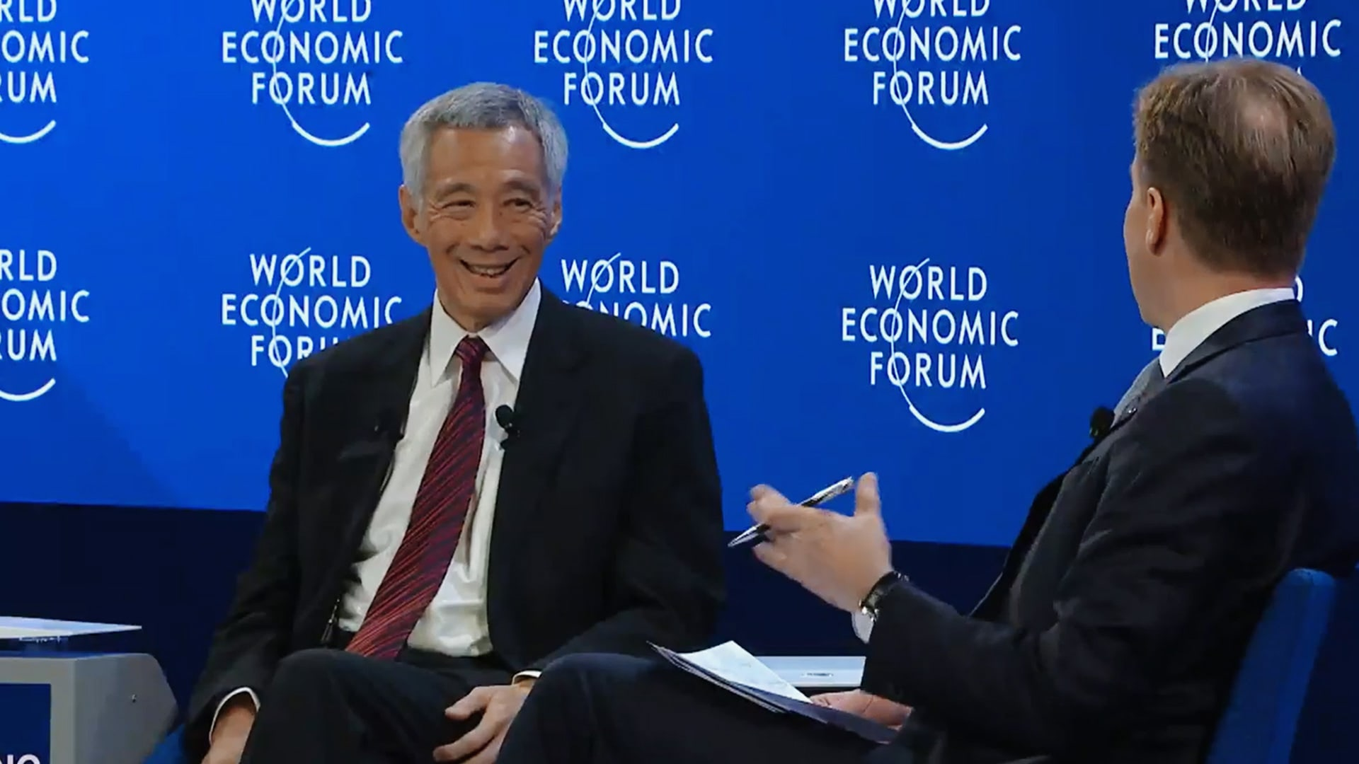 A Conversation with Lee Hsien Loong, Prime Minister of Singapore | Davos 2020