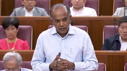 K Shanmugam, Sylvia Lim cross swords in Parliament over GST hike timing