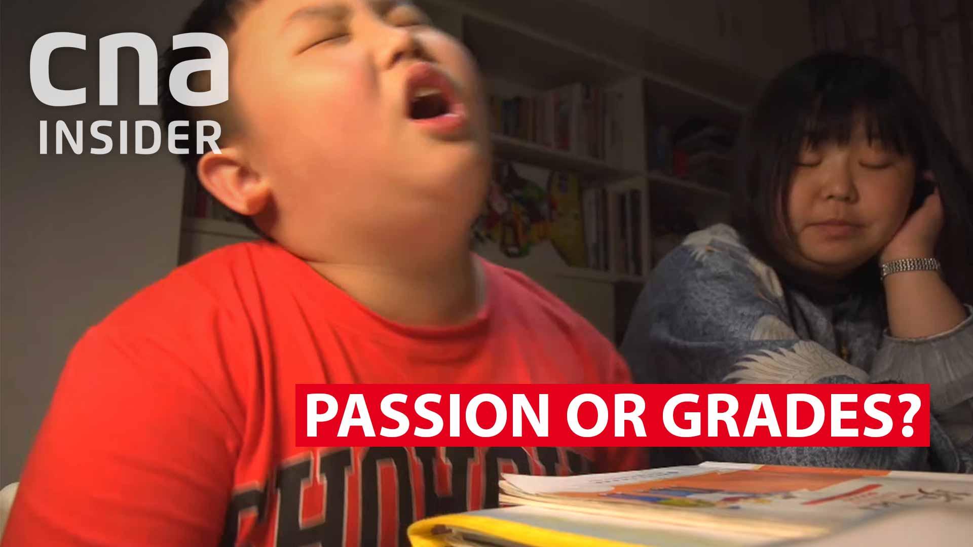 Passion or grades?