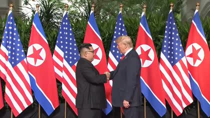 History made: Donald Trump and Kim Jong Un meet for Singapore summit | Video