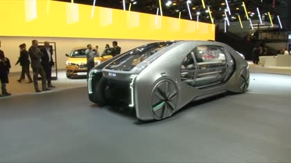 Russian driverless cars take to the road | Video