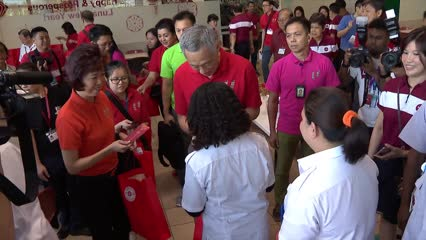 Economy will 'continue to grow' this year, challenges ahead: PM Lee in Chinese New Year visit to SATS | Video