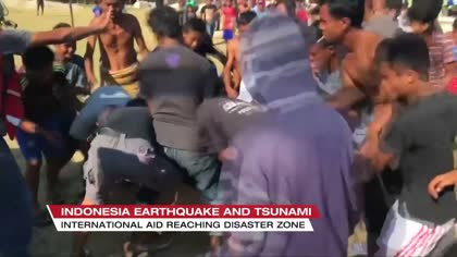 Tsunami survivor turns aid volunteer to help others | Video