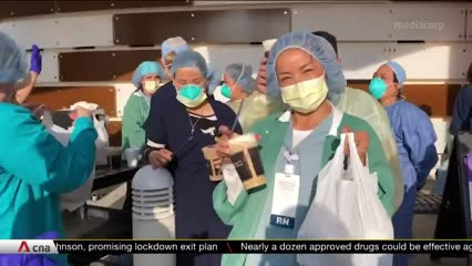 California's Vietnamese nail salon community donates supplies to healthcare workers | Video