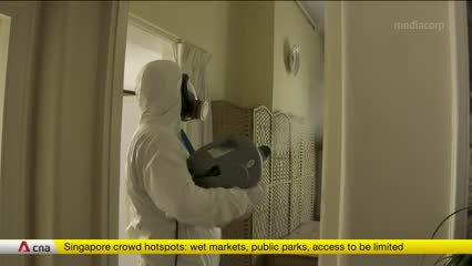 UK cleaning companies shift focus to antiviral cleaning | Video