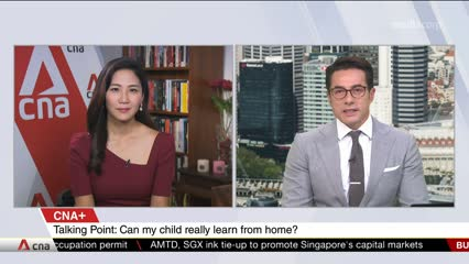 CNA+: Talking Point: Can My Child Really Learn From Home