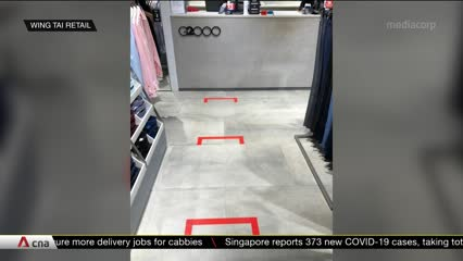 COVID-19: Singapore retail shops gear up to reopen once they get the green light | Video