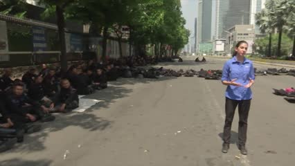Calm returns to Jakarta after two days of unrest | Video