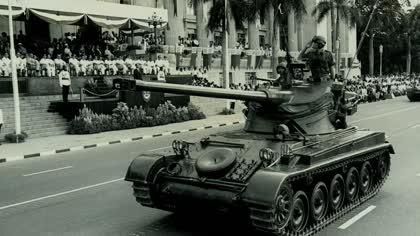Beyond Black-and-White: National Day Parade