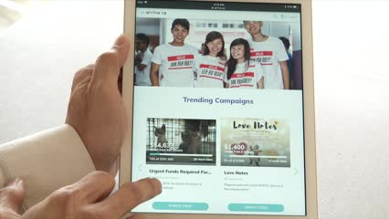 Digital platforms help Singaporeans give time, money to charity | Video