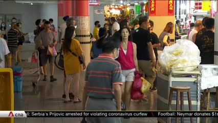Wet markets step up COVID-19 safe distancing measures | Video