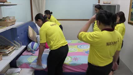 53% of foreign domestic helpers don't last a year in same household: MOM | Video