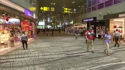 Changi Airport steps up cleaning, hygiene measures in light of COVID-19 concerns | Video
