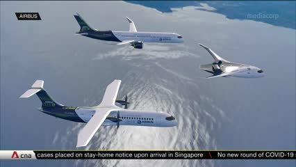 Race on to deliver low-carbon aviation | Video