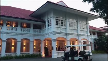 Trump-Kim summit to be held at Sentosa's Capella Hotel: White House | Video