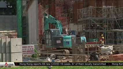 More construction projects restarting, implementing COVID-19 safety measures | Video