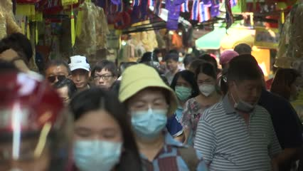 Thai government steps in amid surge in demand for masks and hand sanitisers | Video