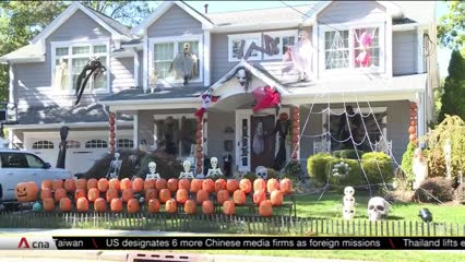 COVID-19 may cause major scare for US business relying on Halloween sales | Video