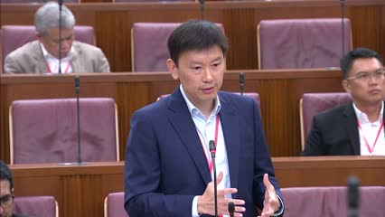Chee Hong Tat on Singapore's Direct Investment Abroad in China
