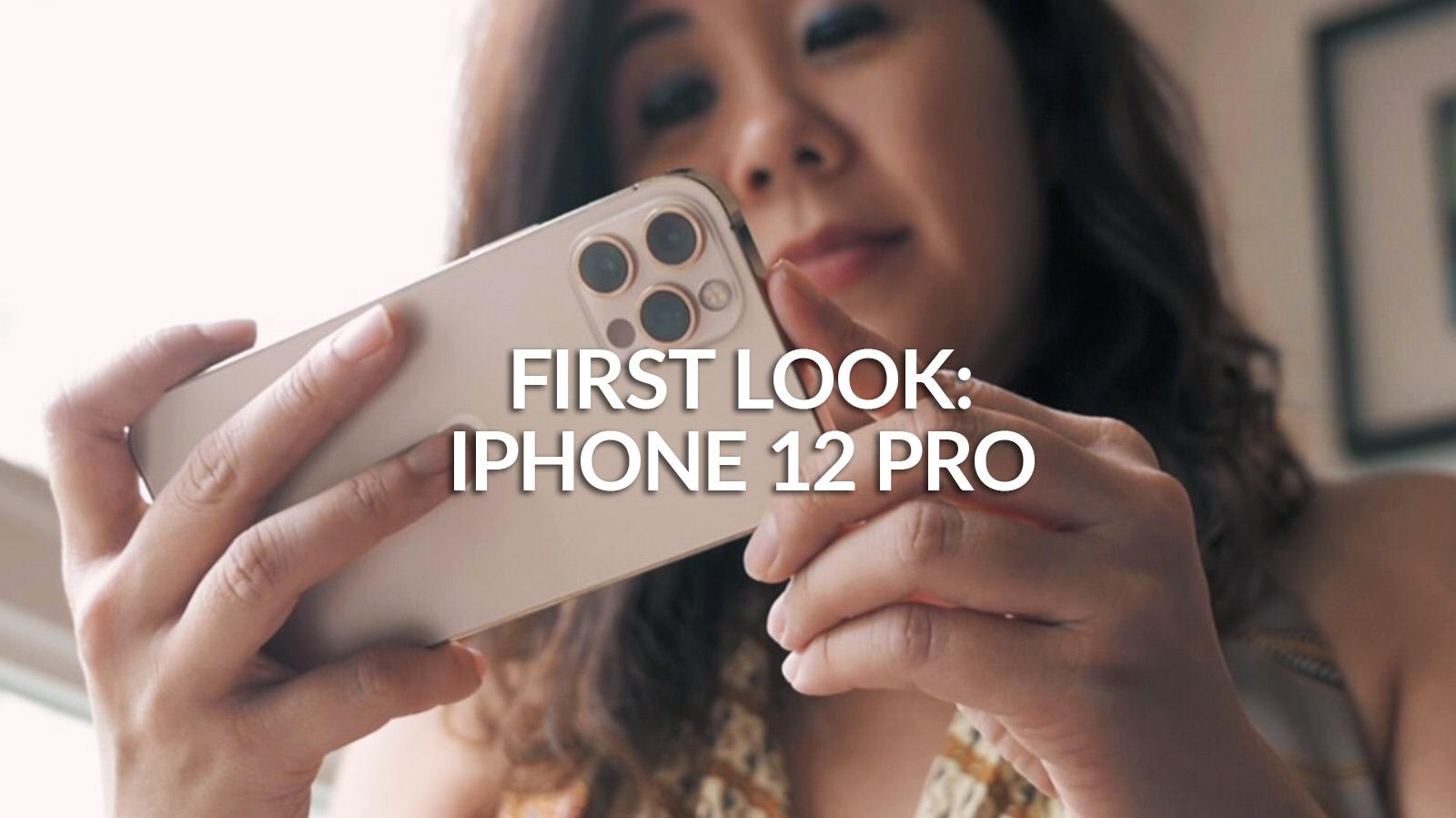 Hands-on review of the iPhone 12 Pro | CNA Lifestyle