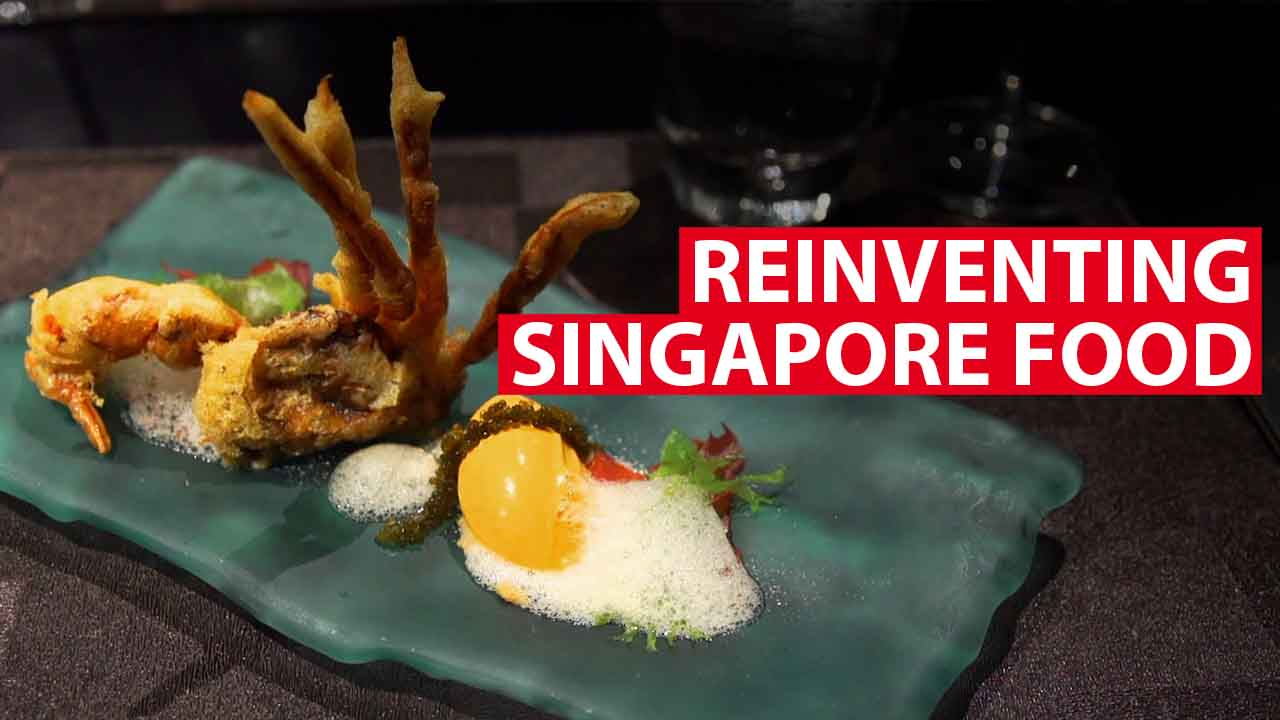 Reinventing Singapore food