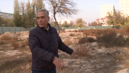 Tashkent's construction boom spurs fear of eviction | Video