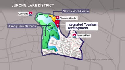 New attractions, hotel in Jurong Lake District as tourism sector gets tech boost| Video