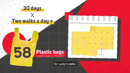 Rethinking Waste: Dog poop bags