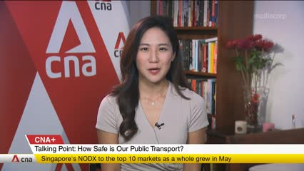 CNA+: Talking Point explores risk of transmission in our public transport