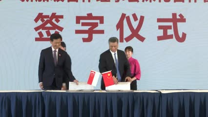 Singapore, Guangdong sign deal to affirm closer cooperation | Video