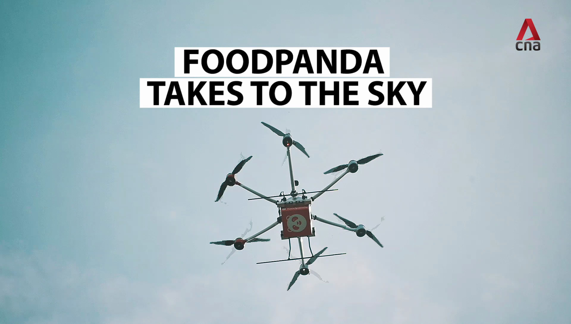 Food delivery by drone? Foodpanda begins trials in Singapore | Video