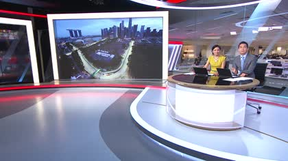 Singapore hotels gear up for boost from Formula 1 weekend | Video
