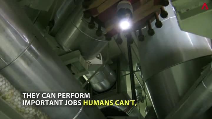 Robots with dangerous jobs
