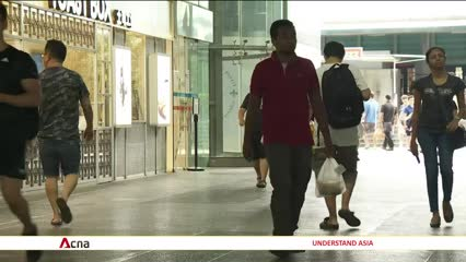 COVID-19: Singaporeans urged to defer non-essential trips to malls | Video