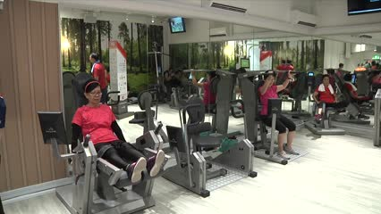 ActiveSG gym for elderly opens in Ang Mo Kio, 4 more to open in mature estates | Video