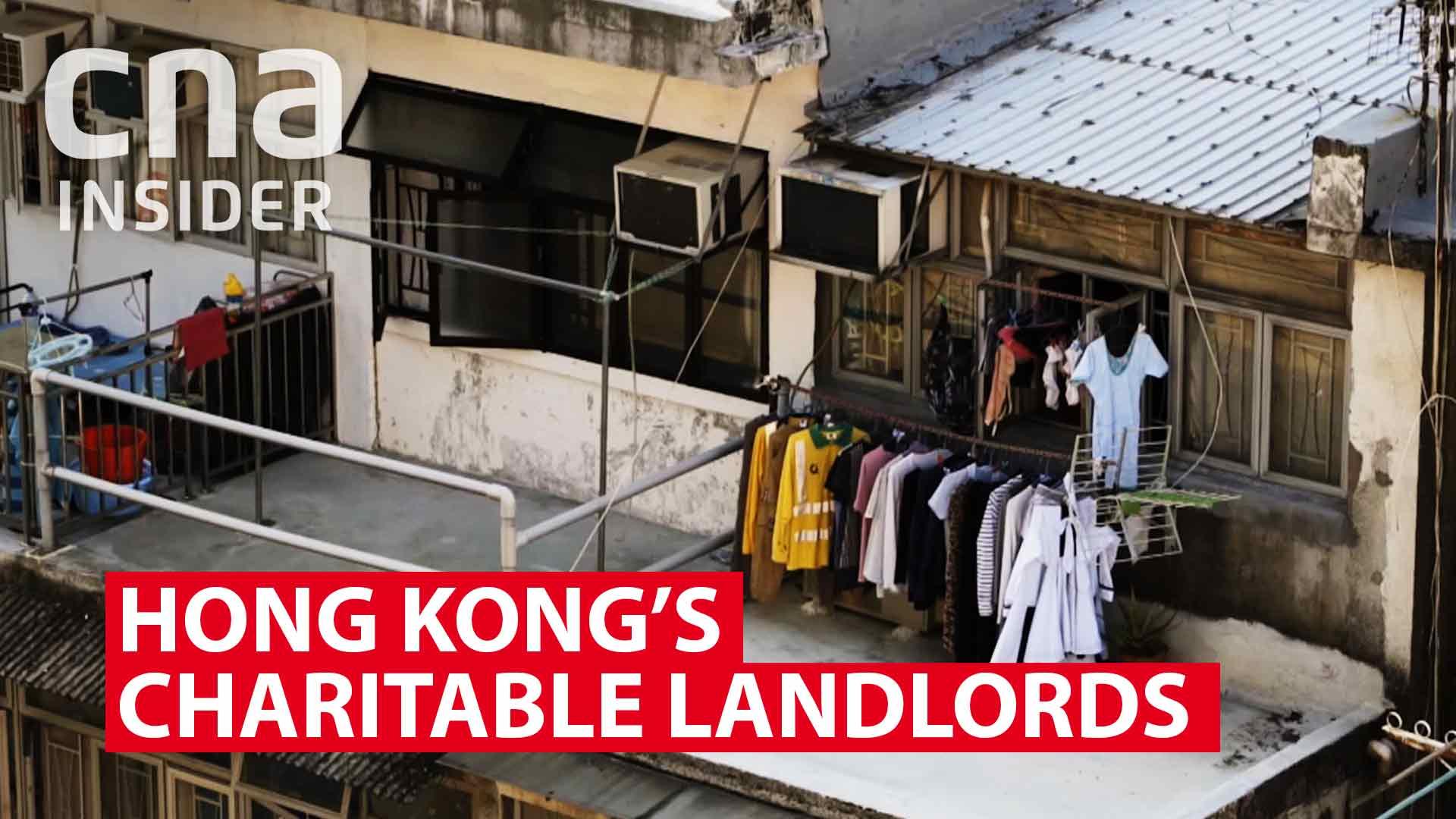 Hong Kong's charitable landlords