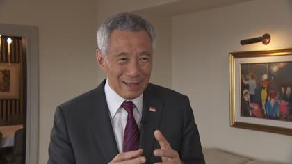 Singapore must get used to a 'more uncomfortable world': PM Lee | Video