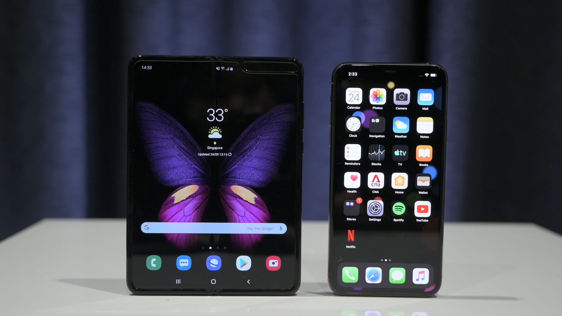 iPhone 11 Pro Max vs Samsung Galaxy Fold: Camera shoot-out | CNA Lifestyle