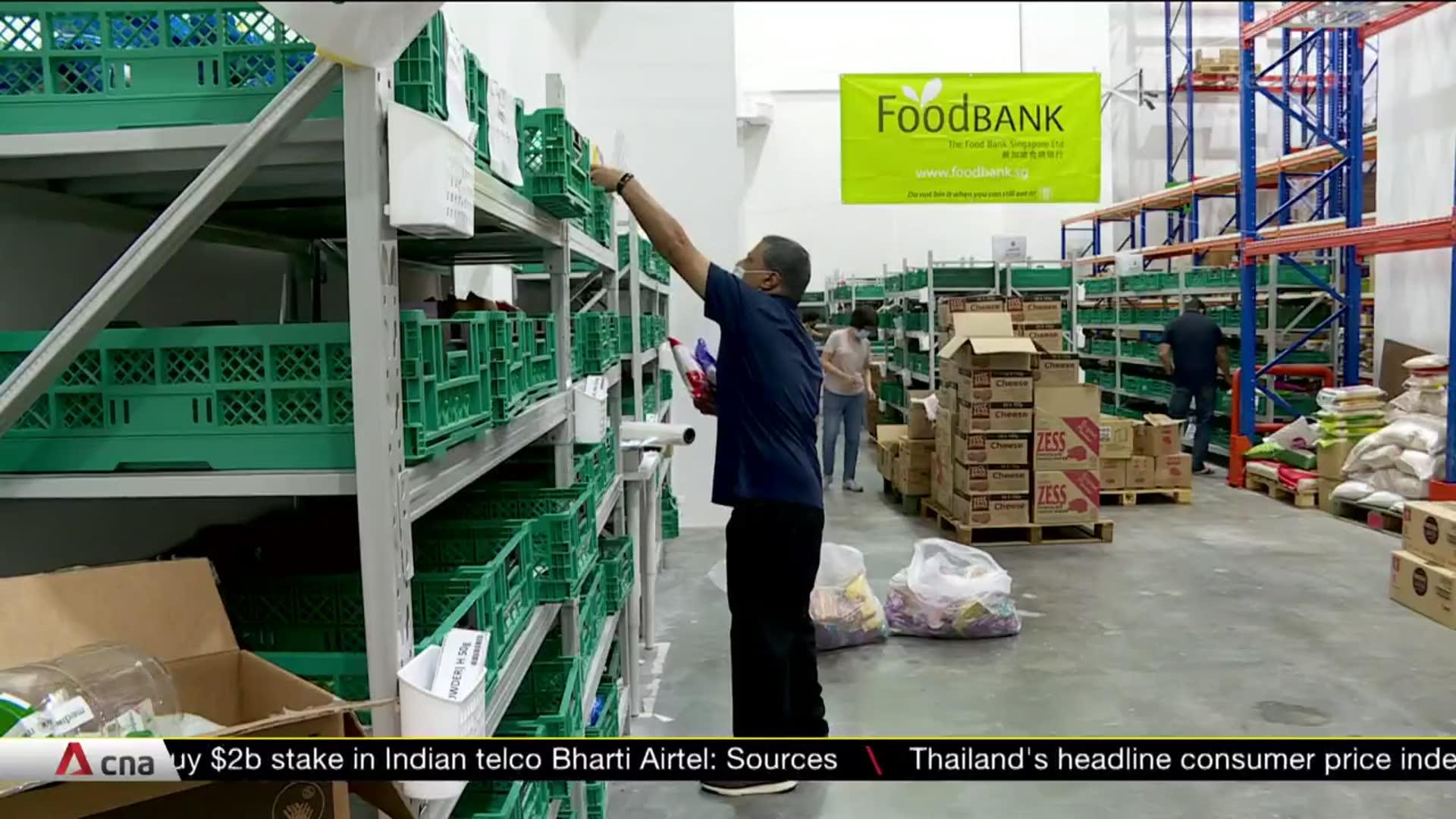 Food charities digitalise to prepare for future pandemics | Video