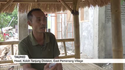 Lombok earthquake one year on | Video