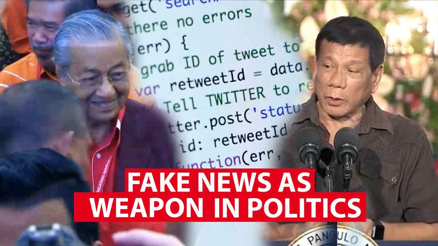 Fake news as weapon in politics