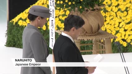 Emperor Naruhito expresses deep remorse over Japan's wartime past | Video